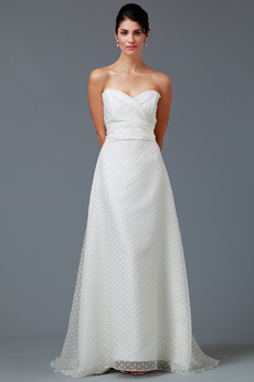 Lawn Party Strapless Bridal Gown 9288