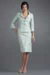 Siri - San Francisco Special Occasion Separates - Tuxedo Jacket 9608 Double Slit Skirt 9610