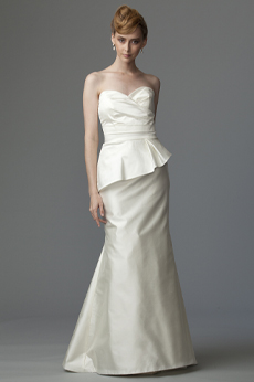 Belvedere Bridal Gown with Peplum 9205