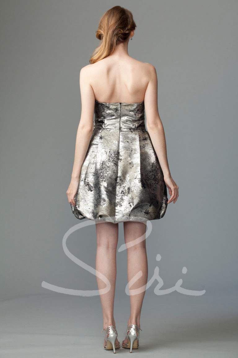 Siri Metallic dress