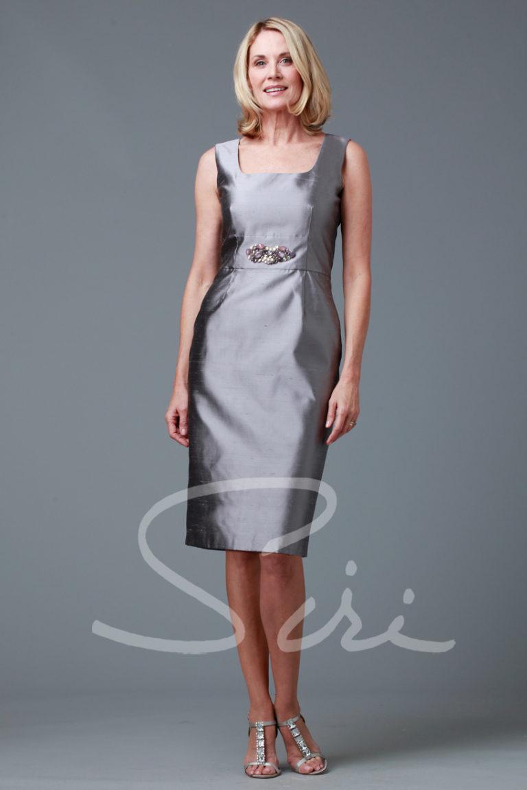 Silk Grey Dress