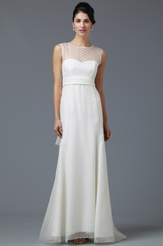 Garden Path Bridal Gown with Bow 9282