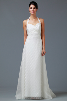 Lawn Party Halter Bridal Gown 9289