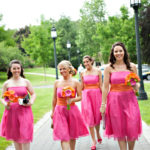 Siri Bridesmaids Dresses, Roman Party Dress