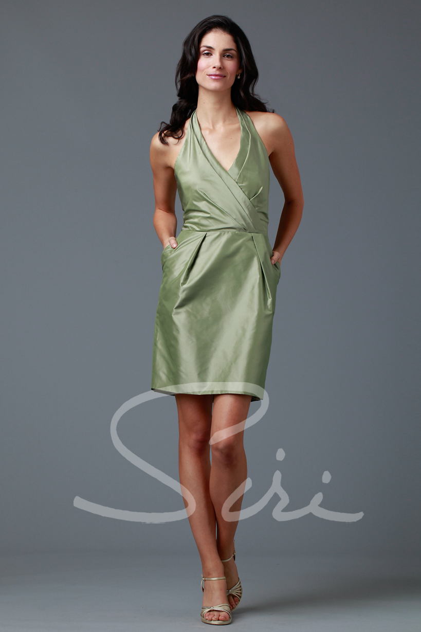 Silk Halter Dress for summer special occasion