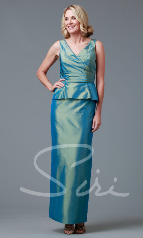 Siri - Special Occasion Gowns - Adele Peplum Gown 9231 - San Francisco