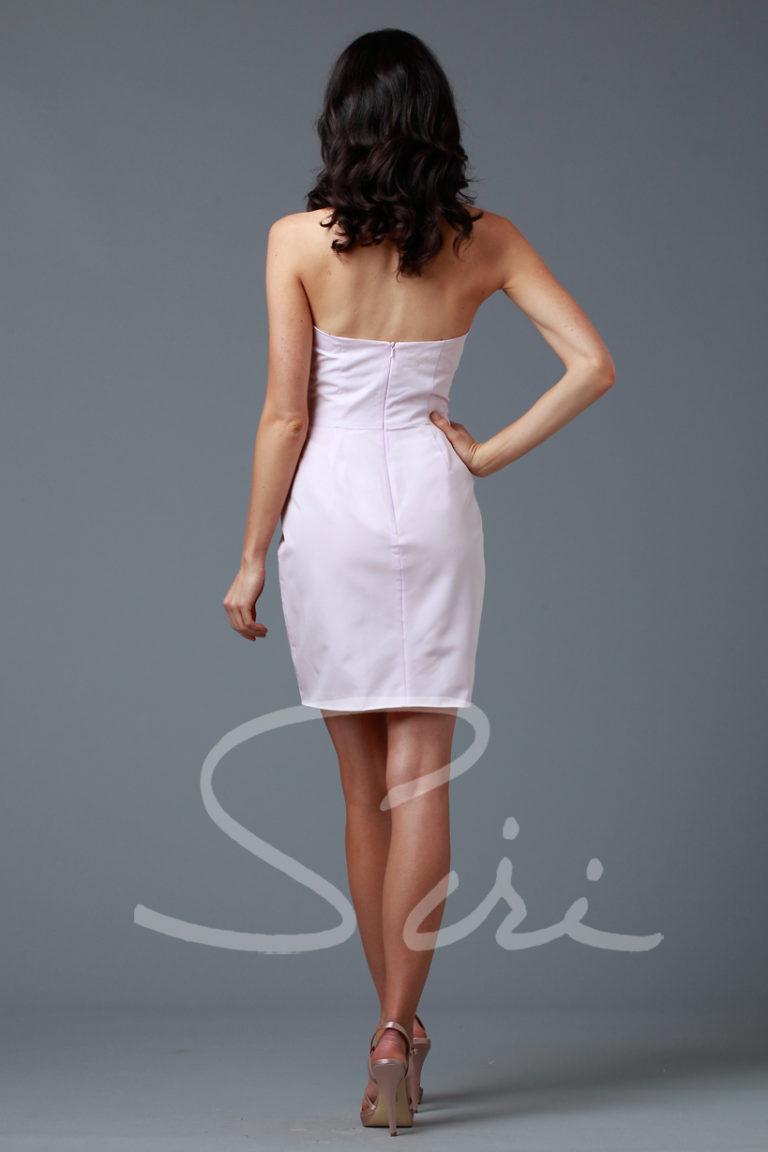 Pink Sheath Siri Dress