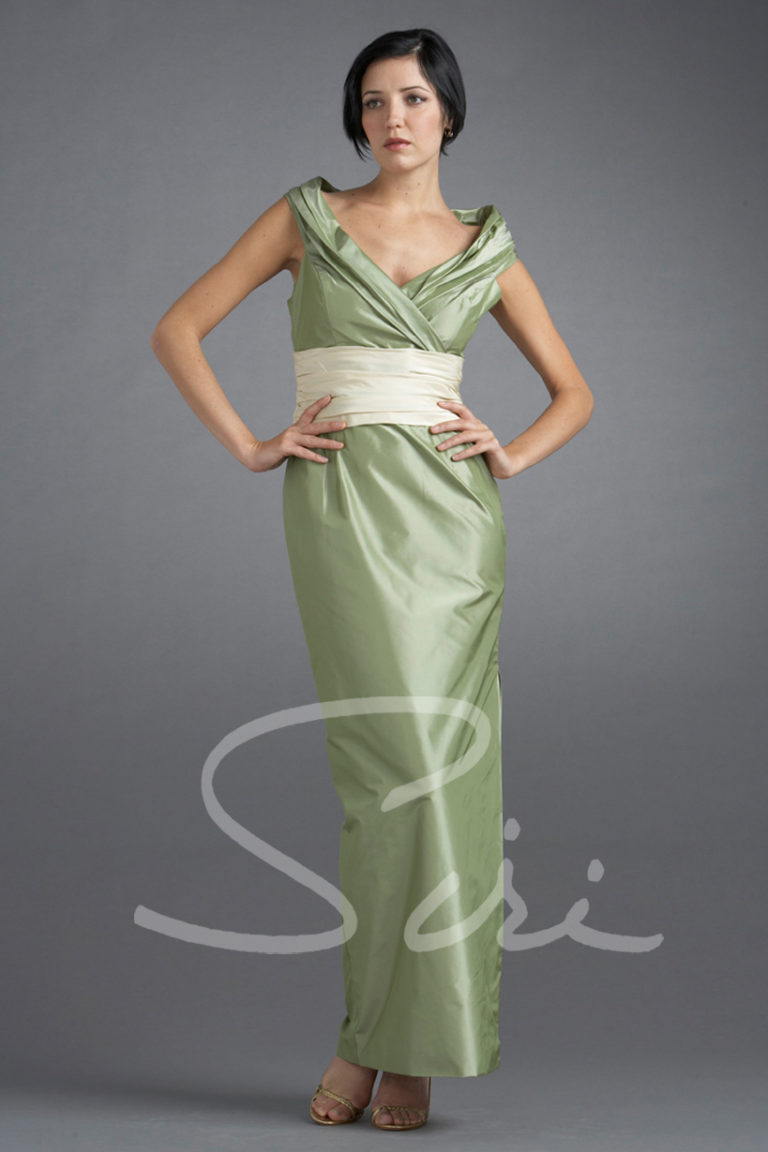 Siri - Special Occasion Gown - Vivien Sheath Gown - San Francisco