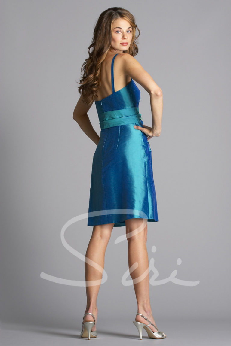 Ocean Blue Siri Dress