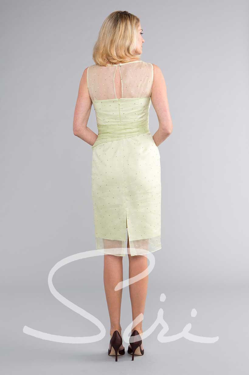 Siri green dress