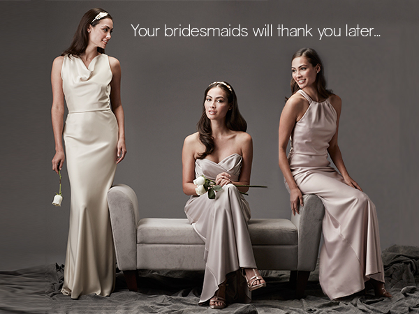Bridesmaids Dresses - Bridesmaids Gowns - Wedding Attire