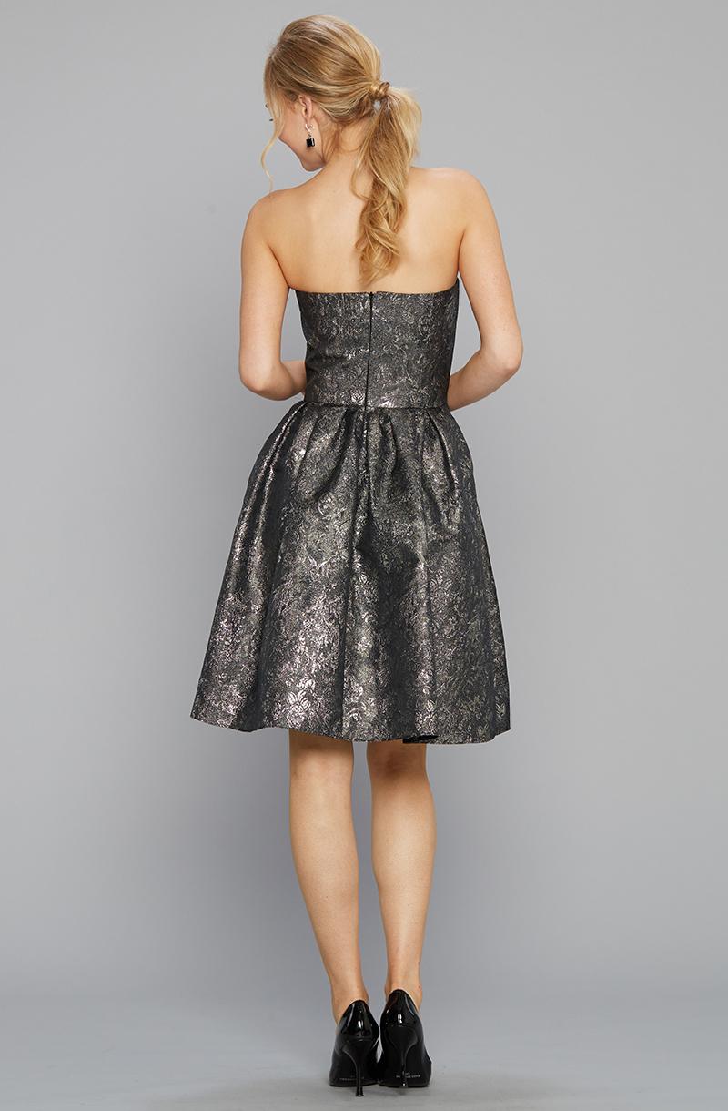 Siri 9136 Tilly Dress Metallic Back