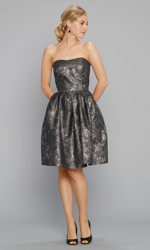 d1af8bbb15a4 Siri Cocktail Dress 9136 Tilly Dress Metallic