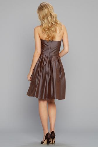 Strapless Party Dress silk