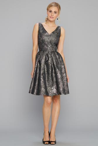 V neck party dress