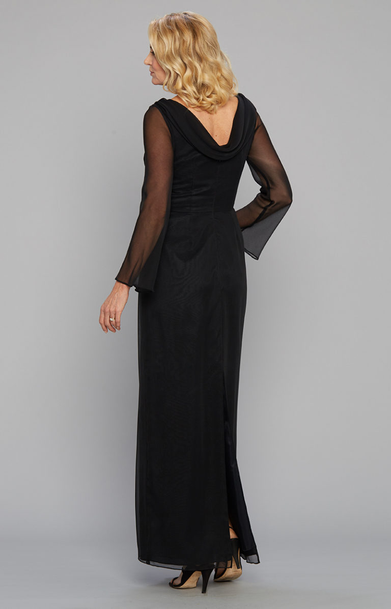 Black Gowns - Arpege Gown 9156 - San Francisco