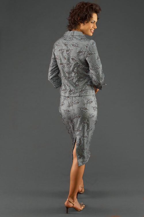 Siri - Separates - Tippi Hedren Jacket 5806 Back Slit Skirt 9620
