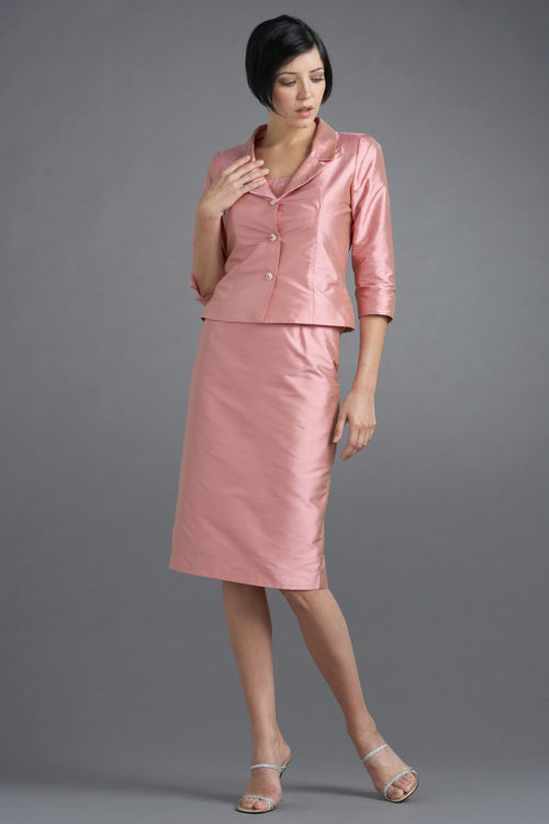 Siri - San Francisco Special Occasion Separates - Tippi Hedren Jacket 5806 Back Slit Skirt 9620