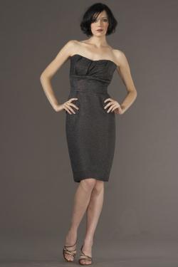 Siri Dresses-Pierre Dress 5937-Charcoal-San Francisco-California