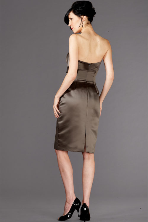 Siri Dresses-Pierre Dress 5937-Slate Grey-San Francisco-California