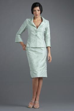 Siri - San Francisco Special Occasion Separates - Tuxedo Jacket 9608 Double Slit Skirt 9610
