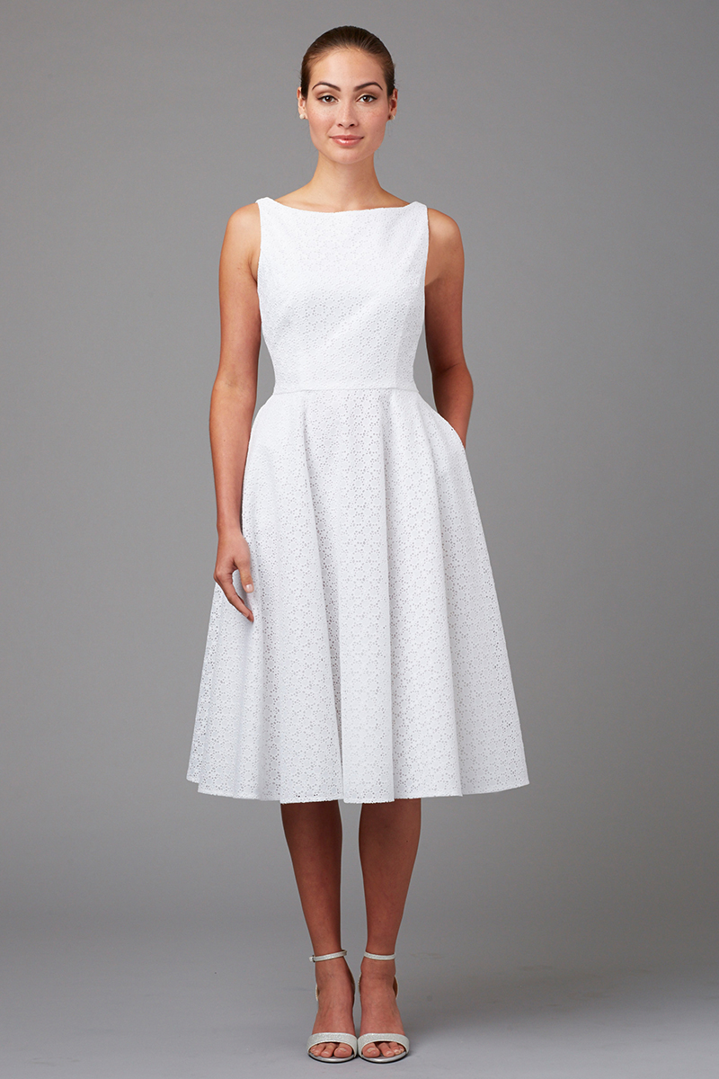 Summer Whites - Cottonwood Dress - Siri Dresses - San Francisco
