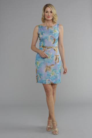 Siri - Day Dresses - Belted Sheath 4439