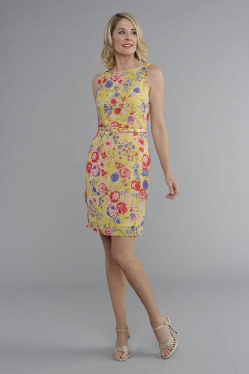 Siri - San Francisco - Day Dresses - Belted Sheath 4476