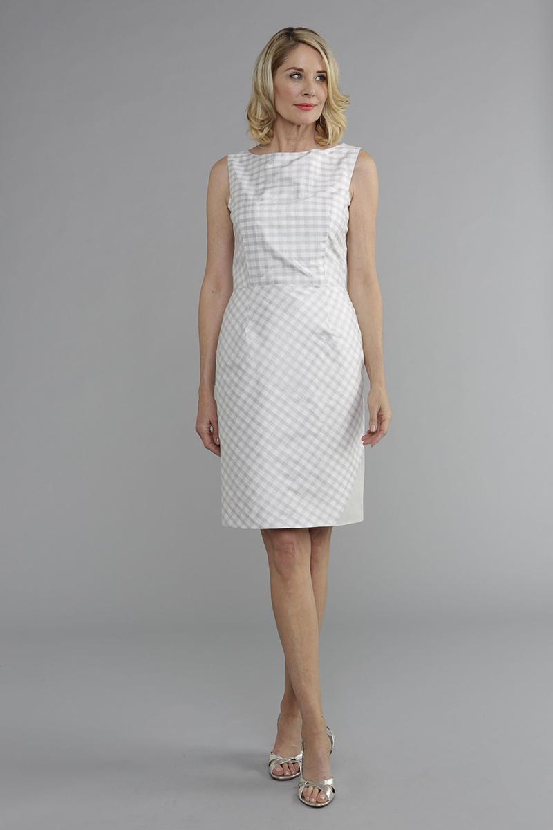 Summer Whites - Hepburn Dress - Siri Dresses - San Francisco