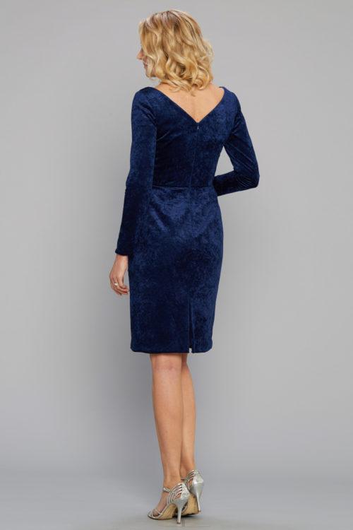 Siri Dresses-Lincoln Center Dress 5506-Midnight-San Francisco-California
