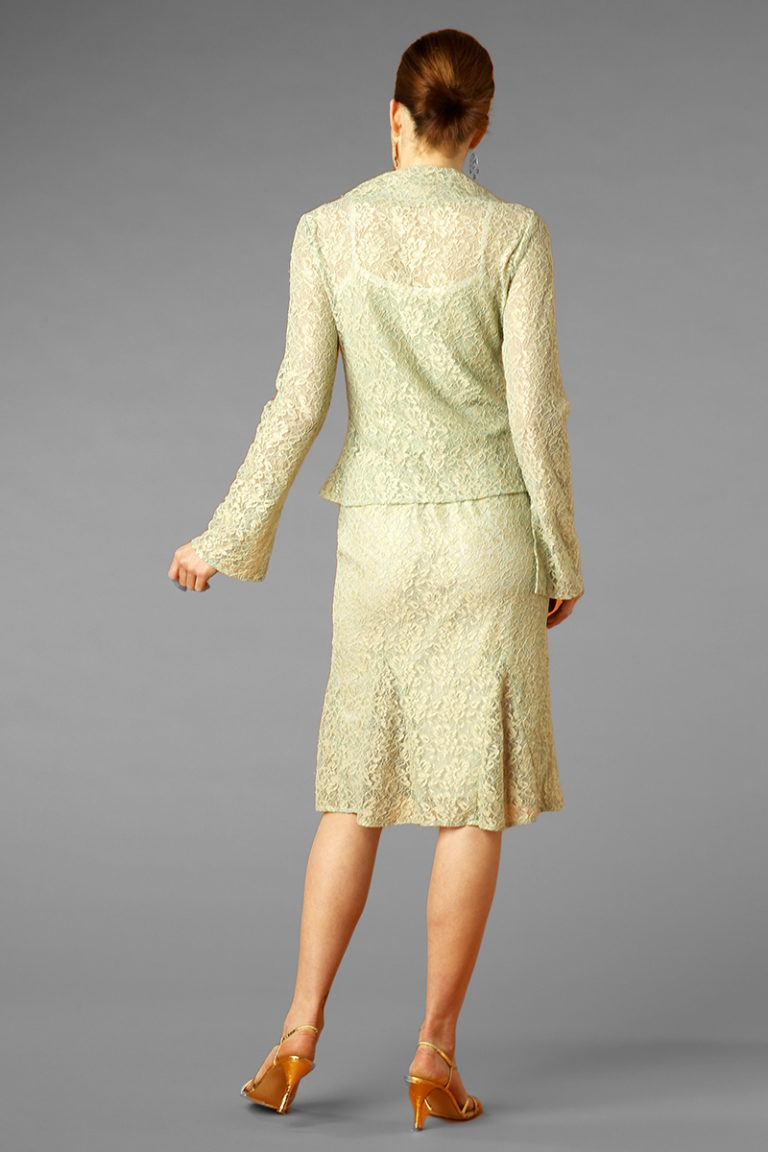 Siri - Cocktail Dresses - Cardigan Jacket 5833 Flippy Skirt 5831
