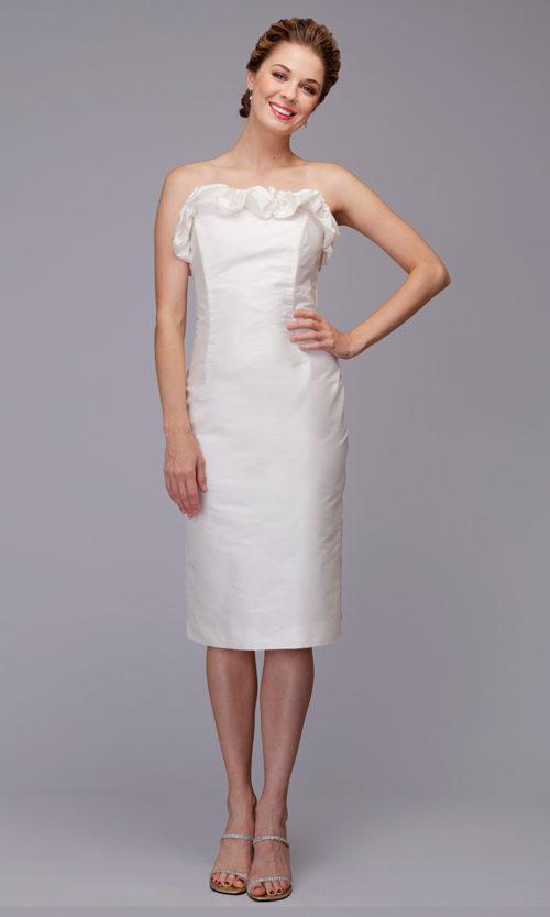Siri - San Francisco Bridal Dresses - Ruffled Sheath 5840