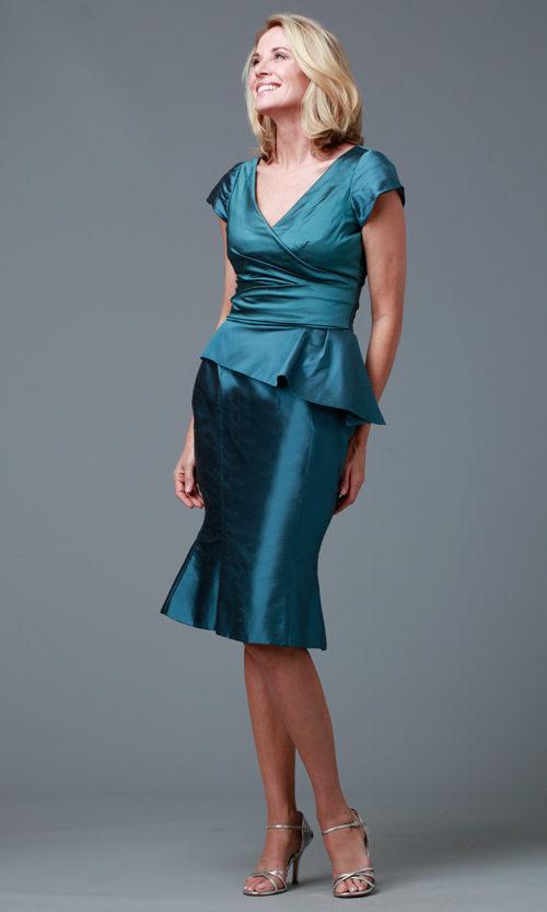 Siri - San Francisco - Cocktail Dresses - Dietrich Top 9312 Trumpet Cocktail Skirt 9319
