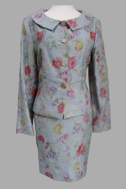 Siri - San Francisco Special Occasion Dresses - Jacket 3506 Side Slit Skirt 3520