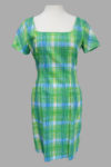 Siri - San Francisco Day Dresses - Plaid Patch Pocket Dress 3946