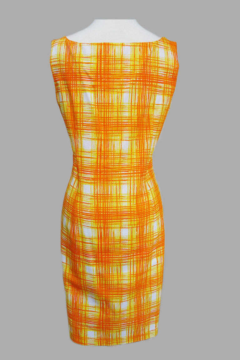 Siri - San Francisco Day Dresses - Scooped Sheath 3999