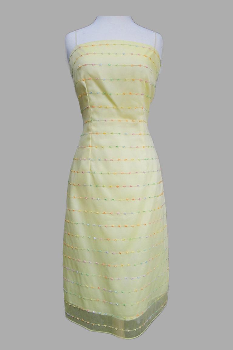 Siri - San Francisco Cocktail Dresses - Crossback A-line Dress 5473