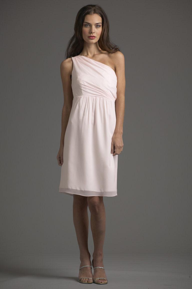 Siri Dresses-Mykonos Dress 5637-Georgette-Pale Pink-San Francisco-California