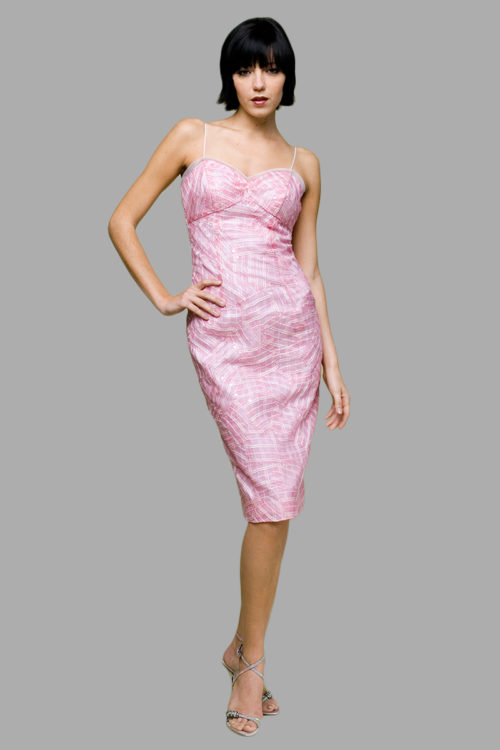 Siri - San Francisco Special Occasion Dresses - Origami Sheath 5645