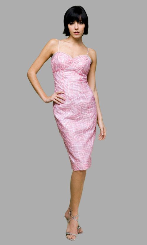 Siri - San Francisco Special Occasion Dresses - Origami Sheath 5645