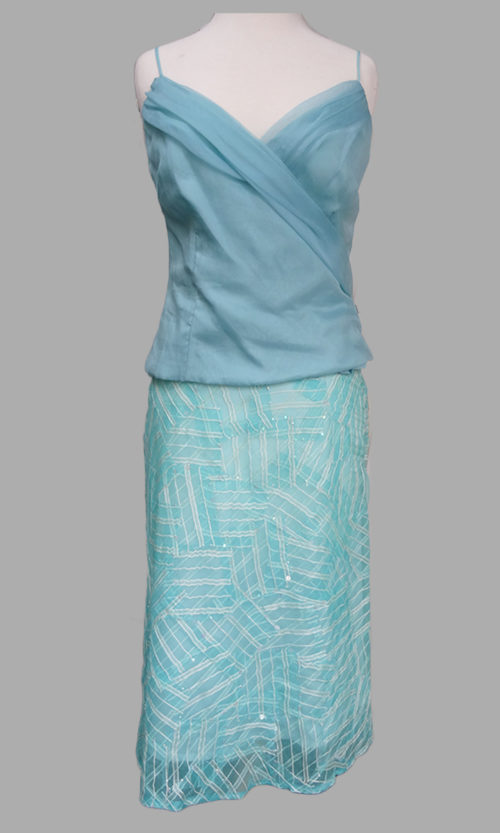 Siri - San Francisco Special Occasion Dresses - Alexandria Top 5932 - Clean A-line Skirt 5627