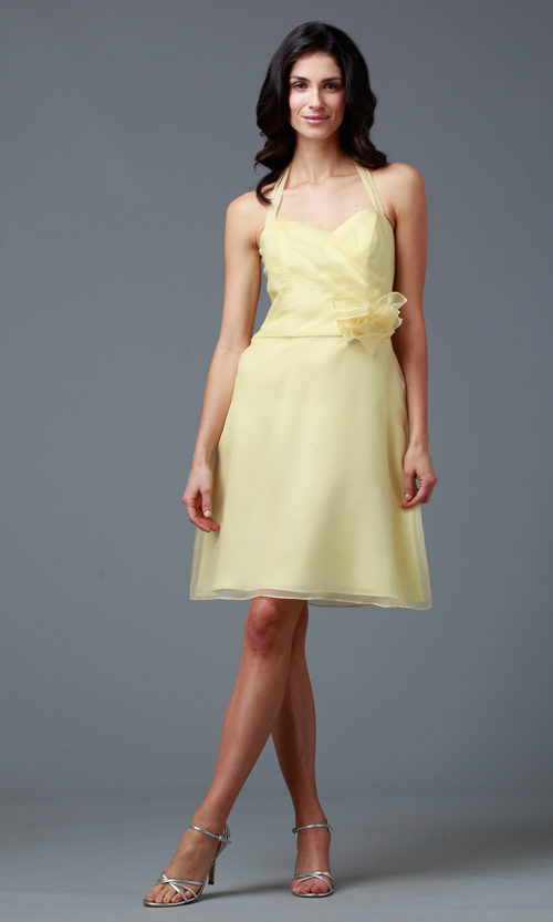 Siri - San Francisco Special Occasion Dresses - Allegro Halter Dress 9216