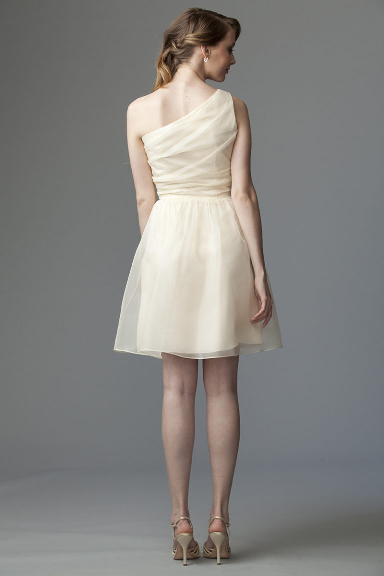 Siri Dresses-Tempo Dress 9234-Sheer Organza-Champagne-San Francisco-California