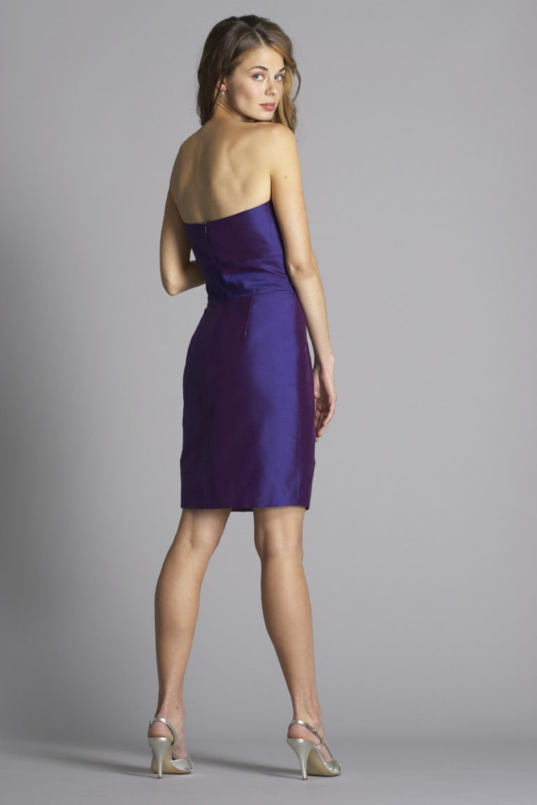 Siri Dresses-Lotus Dress 9505-Shantung-Amethyst-San Francisco-California