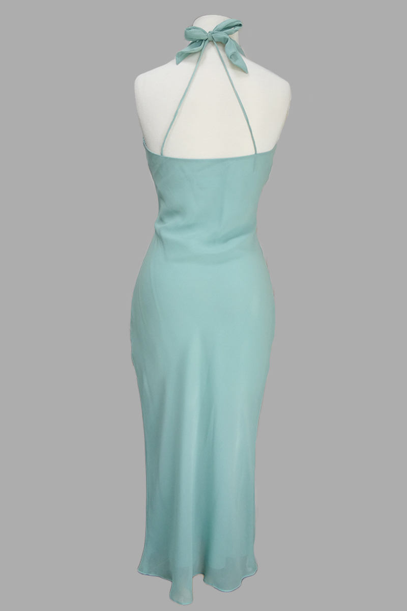 Bias Halter Dress 9644 - Siri Dresses