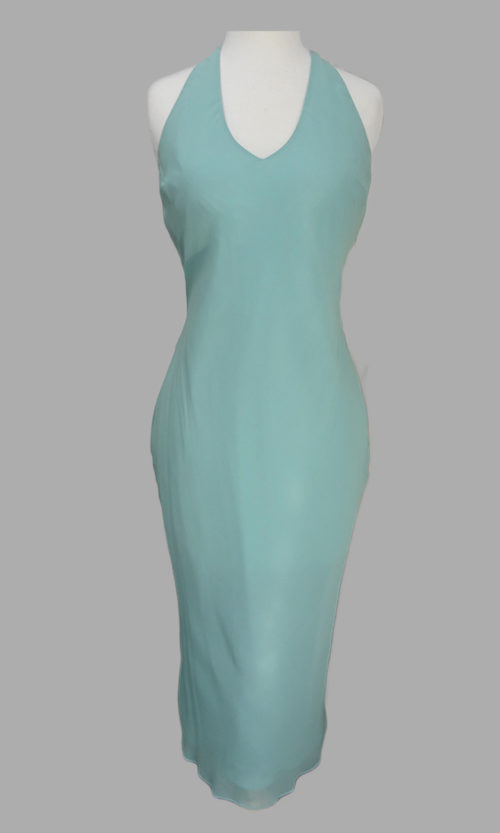 Siri - San Francisco Cocktail Dresses - Bias Halter Dress 9644