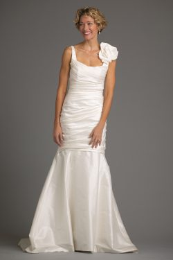 9384 - San Clemente Gown - SH - Off White - FLG
