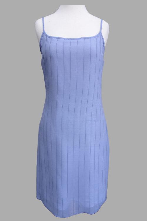 Siri - Day Dress - Sheer Stripe Slip Dress 4489 - San Francisco