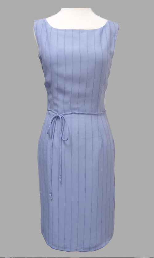 Siri - Day Dress - Sashed Sheath Dress 4490 - San Francisco