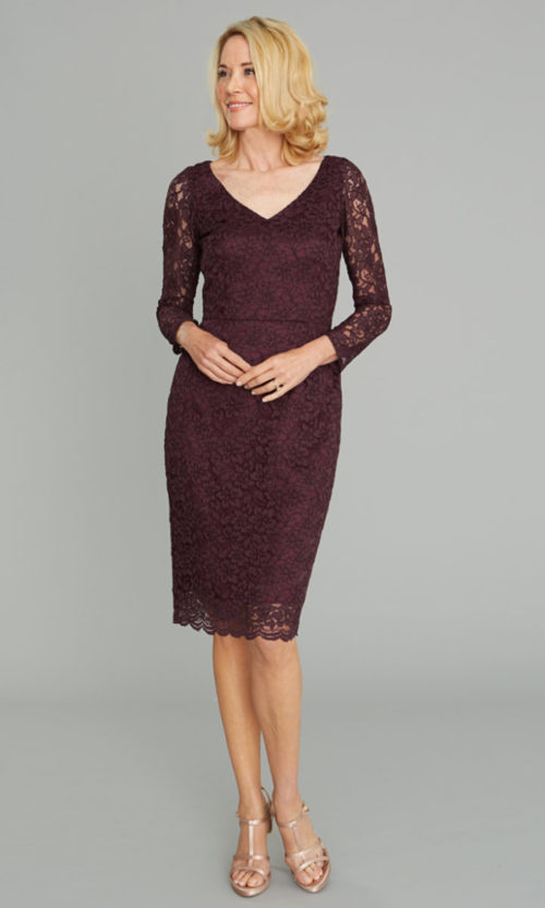 Siri - Cocktail Dress - Delphine Dress 5912 - Lace - San Francisco